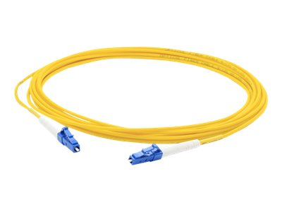 ACP-EP LC-LC 9 125 Singlemode Fiber Cable, Yellow, 3m, ADD-LC-LC-3MS9SMF, 16831933, Cables