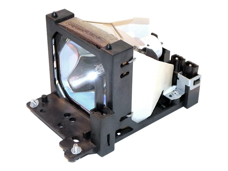 Ereplacements Front projector lamp for Hitachi CP-HX2020, CP-S370, CP-S385W, CP-X380, CP-X380W, CP-X385W, DT00431-ER, 8991996, Projector Lamps
