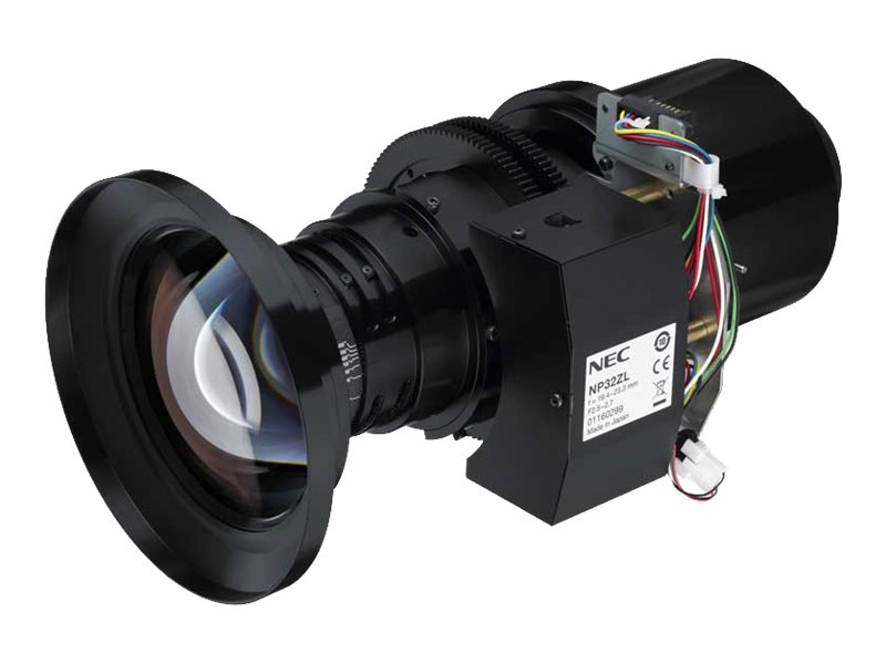 NEC Short Zoom Lens for PH1000U, PH1400U, NP32ZL, 16332771, Projector Accessories