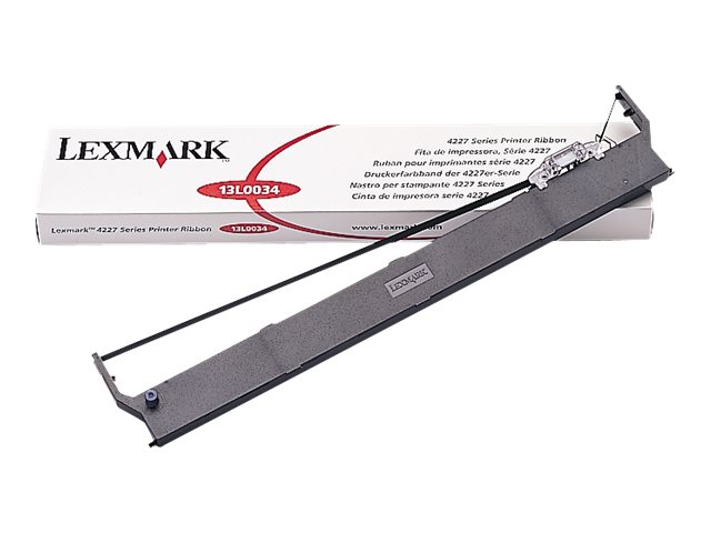 Lexmark Black Print Ribbon for 4227 Printers, 13L0034