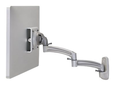 Chief Manufacturing Kontour K2W Wall Mount Swing Arm, Single Monitor, Silver, K2W120S, 18042137, Stands & Mounts - AV