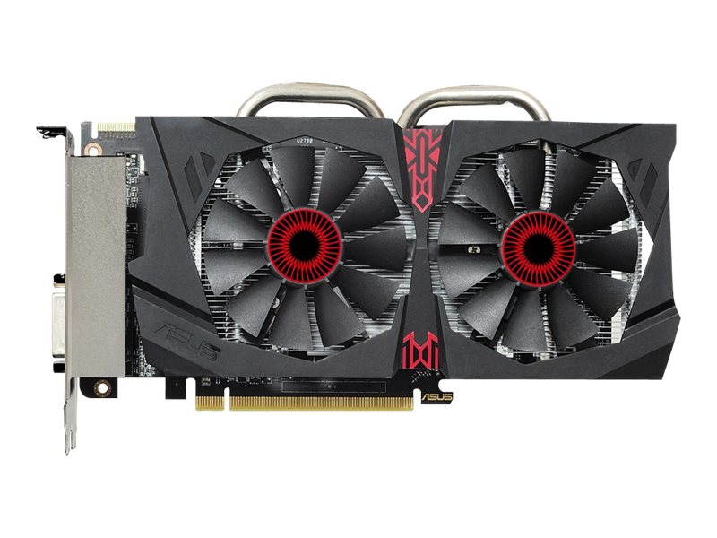Asus Radeon R7 370 PCIe Overclocked Graphics Card, 2GB GDDR5