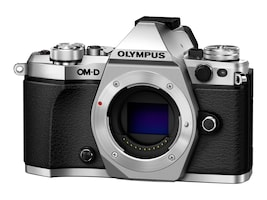 Olympus OM-D E-M5 Mark II Mirrorless Micro Four Thirds Digital Camera, Silver (Body Only), V207040SU000, 18478141, Cameras - Digital