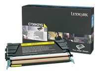 Lexmark Yellow High Yield Toner Cartridge for C736, X736 & X738 Series