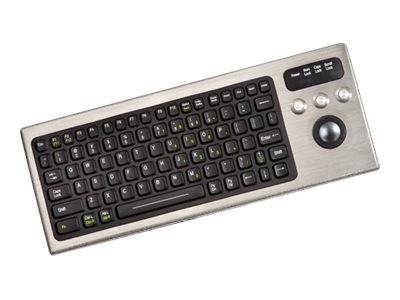 iKEY Keyboard with Integrated Trackball, DBL-810-TB