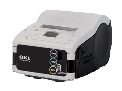 Oki LP441s Standard Mobile Label Printer, 62306301, 11533451, Printers - Label