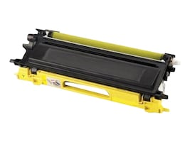 Ereplacements TN210Y Yellow Toner Cartridge for Brother, TN210Y-ER, 18373884, Toner and Imaging Components