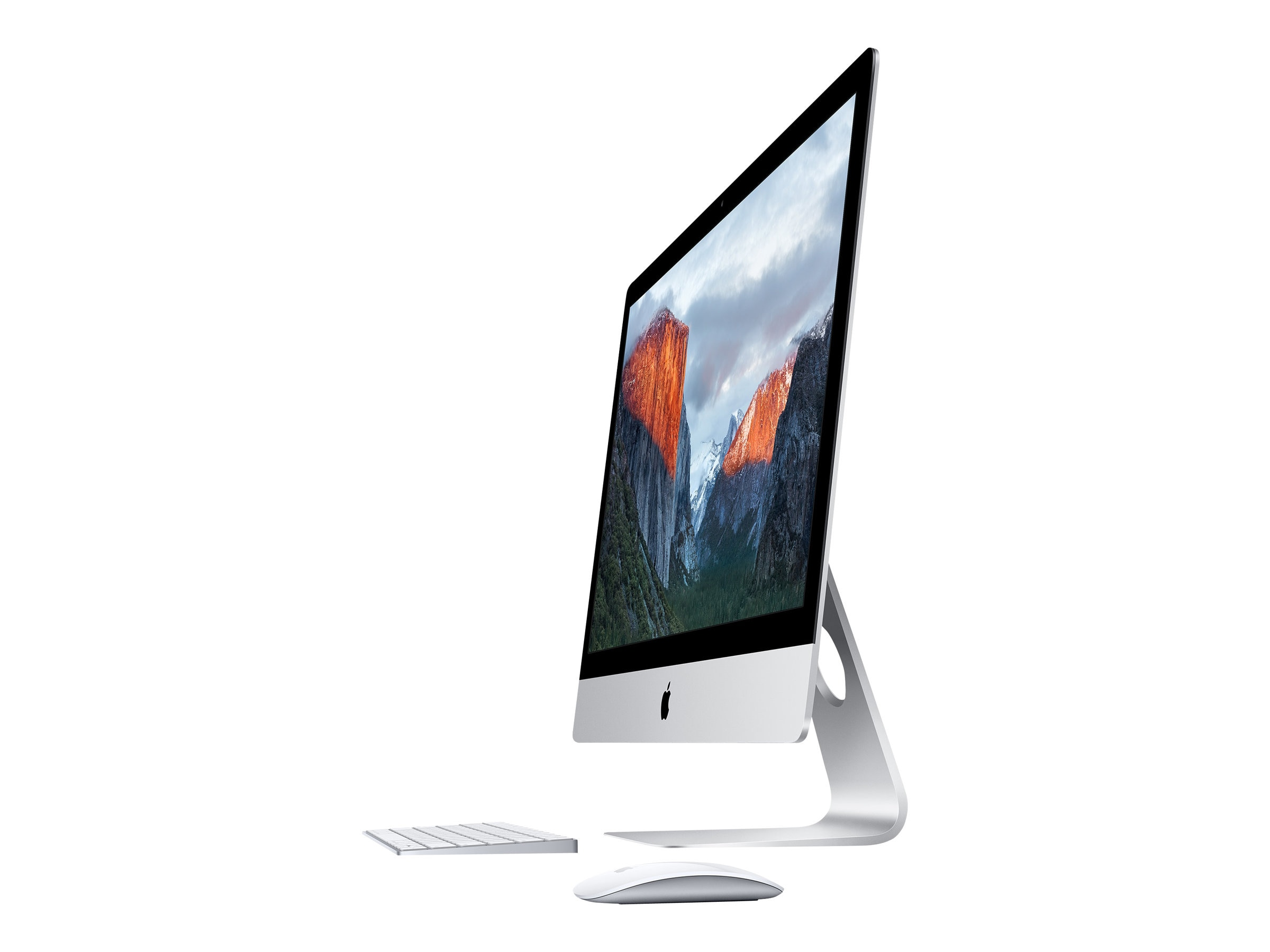 Apple iMac 21.5 4K QC 3.1GHz Core i5 8GB 1TB(5400) Iris Pro 6200 MagicKeyboard MagicMouse2, MK452LL/A, 30761548, Desktops - iMacs