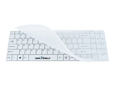 Seal Shield Low Profile Chiclet Style Keyboard w  Detachable Sleeve, SSKSV099UK
