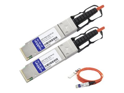 ACP-EP 40G QSFP+ to QSFP+ Direct-Attach Active Optical Cable, 7m, QSFP-H40G-AOC7M-AO