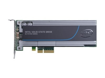 Intel 400GB DC P3700 Series Half Height PCIe 3.0 20nm MLC Solid State Drive, SSDPEDMD400G401, 17451246, Solid State Drives - Internal