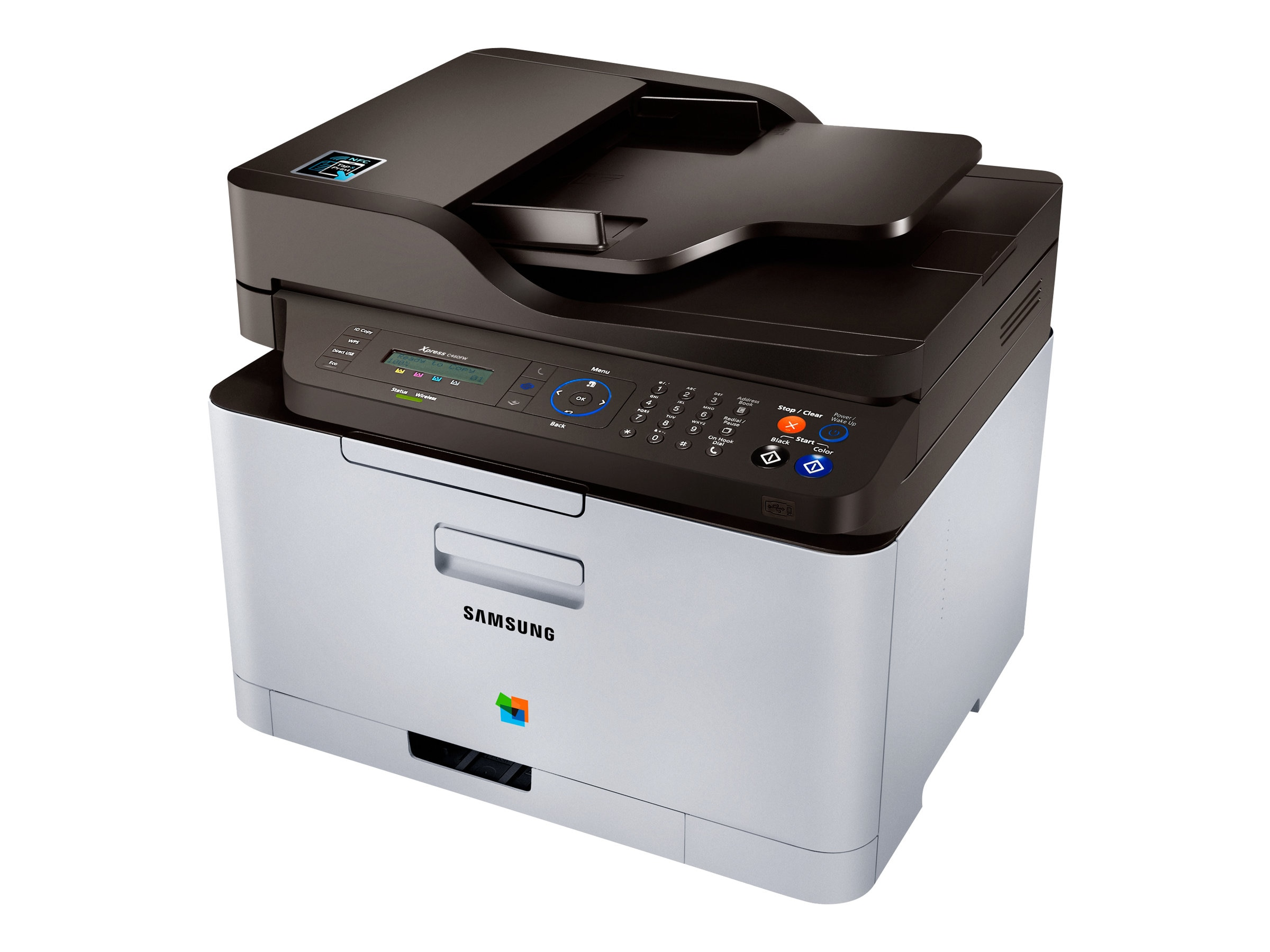 Samsung XPress C460FW Color Multifunction Laser, SL-C460FW/XAA