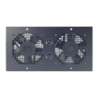 APC NetShelter WX Fan Tray 120VAC, Black, AR8206ABLK, 5979625, Rack Cooling Systems