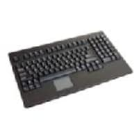 Adesso EasyTouch USB Rackmount Size Keyboard with Touchpad, Black, ACK-730UB, 435915, Keyboards & Keypads