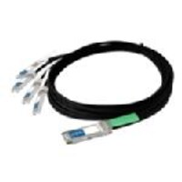 Juniper Networks 40Gbase CR4 QSFP+ F Juniper Direct Attach Passive Copper Cable, 3m, QFX-QSFP-DAC-3M, 16631270, Cables
