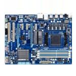 Gigabyte Tech Motherboard, AMD 970, AM3+ FX, ATX, Max 32GB DDR3, 2PCIEX16, 3PCIEX, 2PCI, GBE, Audio, SATA3, GA-970A-D3, 12977986, Motherboards