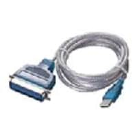Sabrent USB 2.0 Parallel Printer Adapter Cable, 6ft, SBT-UPPC, 8111856, Adapters & Port Converters
