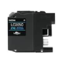 Brother Cyan LC205C Super High Yield Ink Cartridge, LC205C, 17539555, Ink Cartridges & Ink Refill Kits