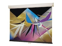 Draper Luma Matt White Projection Screen, Square 1:1, 70 x 70in, 207003, 6152849, Projector Screens