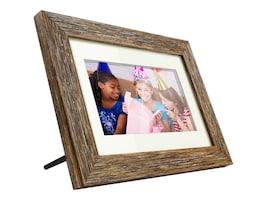 Aluratek 7 Digital Photo Frame w  Distressed Wood, ADPFD07F, 37376642, Digital Picture Frames