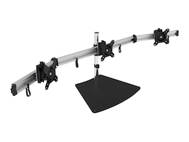 Siig Triple Monitor Desk Mount for 13 to 27 Displays, CE-MT2111-S1, 32405846, Stands & Mounts - Desktop Monitors