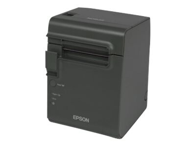 Epson TM-L90 Liner Free Serial USB Thermal Printer - Dark Grey w  Power Supply, C31C412A7991, 30816836, Printers - Bar Code