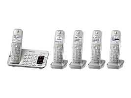 Panasonic KX-TGE475S Main Image from Right-angle