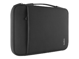 Belkin 13 Sleeve for Chromebook, Ultrabook, Macbook Air, Black, B2B064-C00, 15735499, Carrying Cases - Notebook