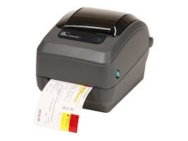 Zebra GX430t Direct Thermal-Thermal Transfer 300dpi USB Serial CP Printer, GX43-102511-000, 13277957, Printers - Label