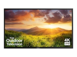 75 Signature Series 4K Ultra HD Partial Sun Outdoor TV, Black, SB-S-75-4K-BL, 35399082, Televisions - Commercial