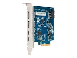 HP SMART BUY DUAL PORT THUNDERBOLTADAP3 PCIE AIC, 3UU05AT, 37713143, Cables