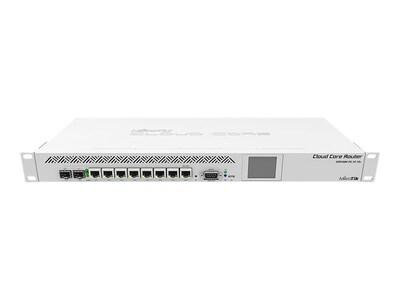 Mikrotik CCR1009-7G-1C-1S+ 1U RM Cloud Core Router Tilera 1.2GHz 2GB RAM 128MB Flash 8xGbE 1x10GbE 2xPSU, CCR1009-7G-1C-1S+, 34328258, Network Routers