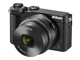 Nikon 1 J5 Mirrorless Digital Camera with 10-30mm Lens , Black, 27707, 34103323, Cameras - Digital