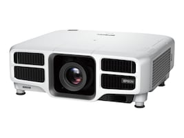 Epson Pro L1300U Laser WUXGA 3LCD Projector with Standard Lens, 8000 Lumens, White, V11H733020, 31970384, Projectors
