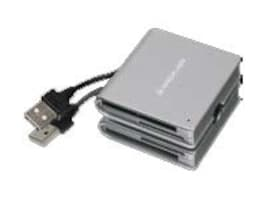 IOGEAR 50-in-1 Portable Card Reader, GFR210, 11273944, PC Card/Flash Memory Readers