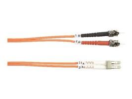 Black Box Fiber Patch Cable, ST-LC, 62.5 125, Duplex, Multimode, 5m, FO625-005M-STLC, 12550763, Cables