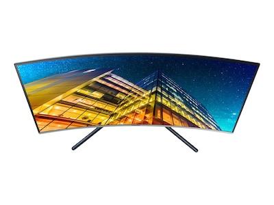 Samsung 32 UR59C 4K Ultra HD LED-LCD Curved Monitor, U32R590CWN, 36776812, Monitors