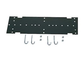 Hubbell NEXTFrame Ladder Rack, Mounting Kit to Relay Rack, Black, HLMPK19, 365367, Rack Mount Accessories