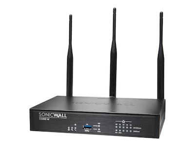 SonicWALL TZ300 Wireless AC Security Appliance w Secure Upgrade (3 Years), 01-SSC-0578, 25745172, Network Firewall/VPN - Hardware