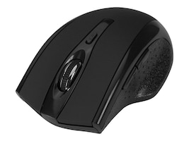 Siig Ergonomic Wireless 6-Button 2.4GHz Optical Mouse w Dual Adjustable DPI, Black, JK-WR0A12-S1, 18184320, Mice & Cursor Control Devices