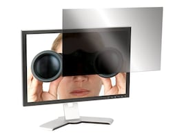 Targus 24 Widescreen LCD Monitor 16:9 Privacy Screen, ASF24W9USZ, 12610017, Glare Filters & Privacy Screens