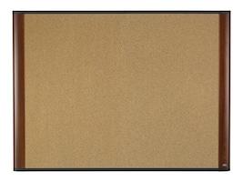 3M Cork Board Mahogany Finish Frame 36 x 24, C3624MY, 15305835, Office Supplies