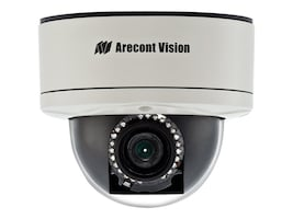 Arecontvision 3MP H.264 All-in-One Motorized P-Iris Lens Day Night IR Indoor Outdoor Dome IP Camera, 2.8-8mm Lens, AV3255PMIR-SH, 33655361, Cameras - Security