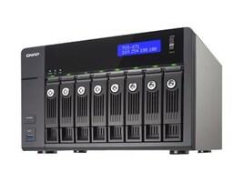 Qnap TVS-871 8-Bay Intel I3 3.5 2C 4G 4LAN 10GB NAS, TVS-871-I3-4G-US, 18386773, Network Attached Storage
