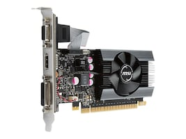 Microstar GeForce GT 710 PCIe Low-Profile Graphics Card, 1GB GDDR5, G7101D5P, 35029541, Graphics/Video Accelerators