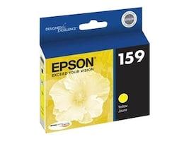 Epson Yellow 159 Ultrachrome Hi-Gloss 2 Ink Cartridge, T159420, 12838839, Ink Cartridges & Ink Refill Kits