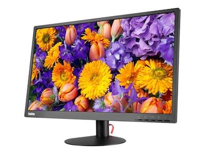 Lenovo 23.8 E24-10 Full HD LED-LCD Monitor, Black, 61B7JAR6US, 34468373, Monitors