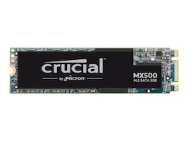 Crucial 1TB MX500 SATA 6Gb s M.2 280 Internal Solid State Drive, CT1000MX500SSD4, 35376315, Solid State Drives - Internal