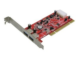 Addonics 2-port USB 3.0 PCIe Controller, AD2U3PCI, 12422500, Controller Cards & I/O Boards