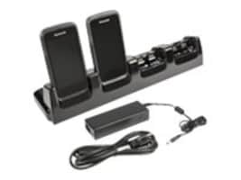 Honeywell 4-Slot Battery Charging Kit w  Power Supply, Power Cord, CT50-CB-1, 30357705, Battery Chargers